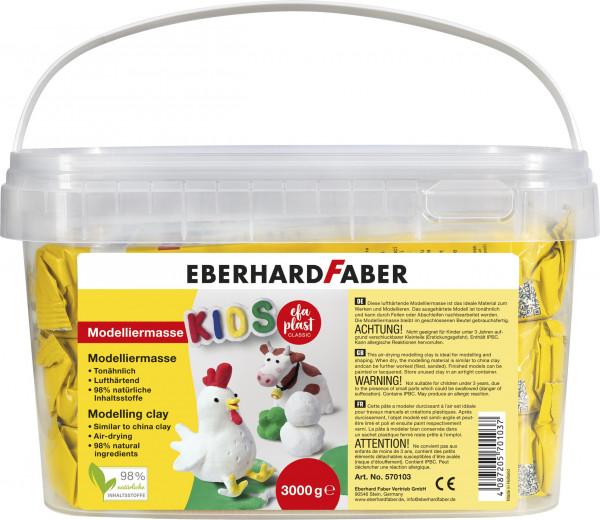 EFA PLAST classic Kids 3kg weiß im Eimer