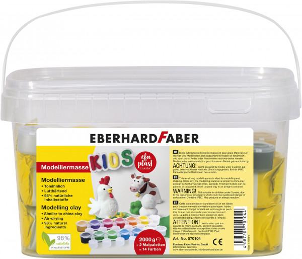 EFA PLAST Kids 2kg weiß + 14 Farben