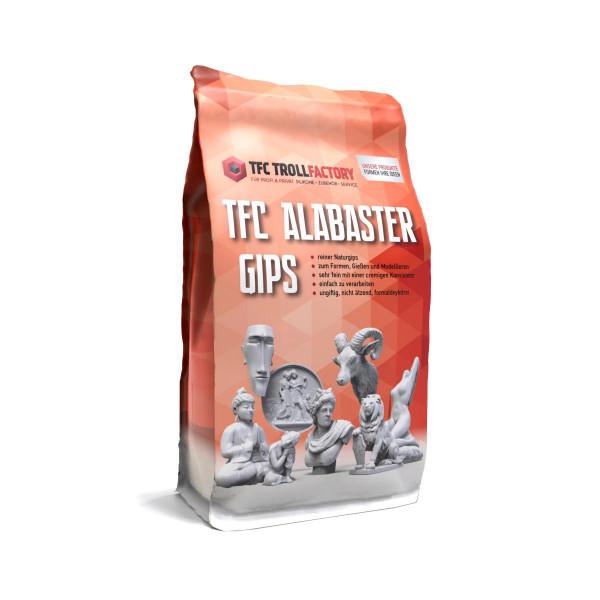 TFC Alabastergips naturweiss feinster Alabastergips 2:1 - Größe: 1kg