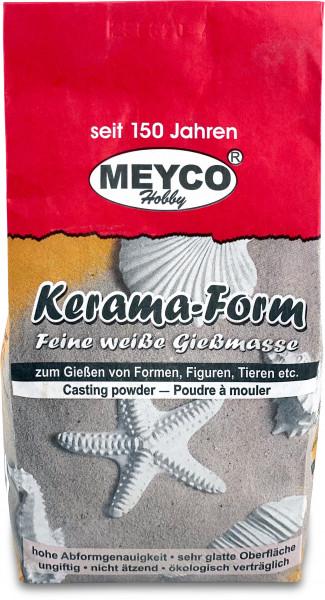 MEYCO Kerama Form Gießmasse - Feine Gießmasse weiß, 1kg