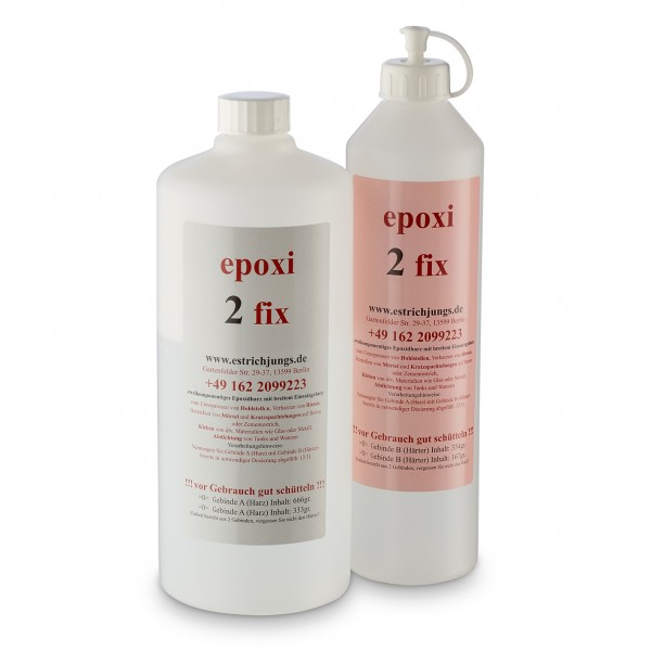 epoxi 2 fix, Epoxidharz, Rissharz, Giessharz 1000g