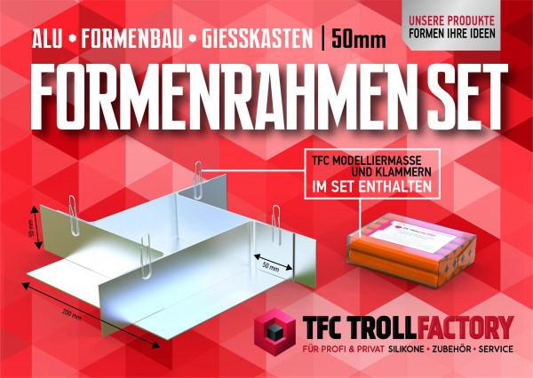 TFZ Formenrahmen ALU SET Formbaurahmen Giesskasten Rahmen Formenbau 50mm