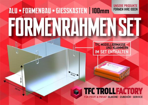 TFZ Formenrahmen SET ALU Formbaurahmen Giesskasten Rahmen Formenbau 100mm