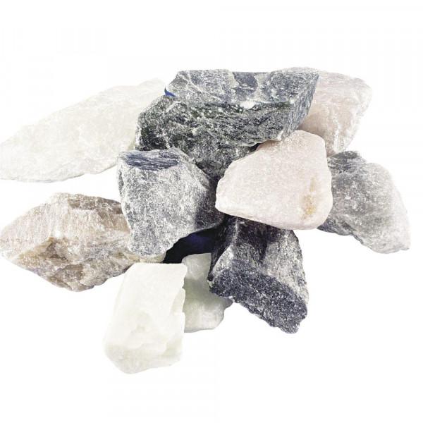 Specksteine 1kg - bunt gemischt - 2-8 cm kleine Teile - von Rayher Speckstein