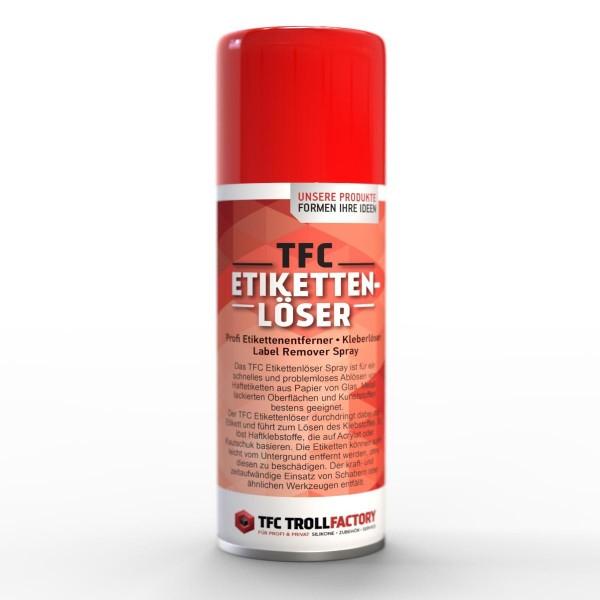 TFC Etikettenlöser Etikettenentferner Kleberlöser Label Remover Spray Menge 500ml